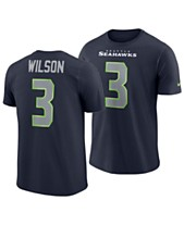 a036152c Nike Men's Russell Wilson Seattle Seahawks Player Pride Name and Number T- Shirt