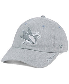 Authentic NHL Headwear Women's San Jose Sharks Lux Fundamental Adjustable Cap