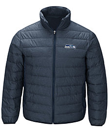 G-III Sports Men's Seattle Seahawks Playoff Quilted Polyfill Jacket
