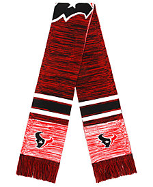 Forever Collectibles Houston Texans Knit Color Blend Big Logo Scarf