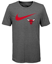 Nike Chicago Bulls  Swoosh Team T-Shirt 2018, Big Boys (8-20)