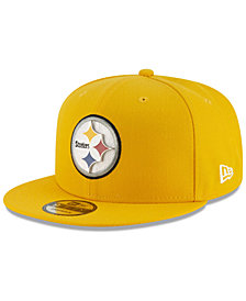 New Era Pittsburgh Steelers Metal Thread 9FIFTY Snapback Cap