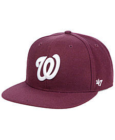 '47 Brand Washington Nationals Autumn Snapback Cap
