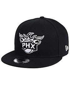 New Era Phoenix Suns Black White 9FIFTY Snapback Cap