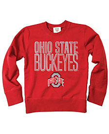 Wes & Willy Ohio State Buckeyes Crew Neck Sweatshirt, Toddler Boys (2T-4T)