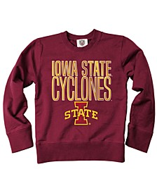 Iowa State Cyclones Crewneck Sweatshirt, Big Boys (8-20)