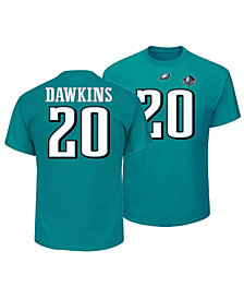 Majestic Men s Brian Dawkins Philadelphia Eagles Hall of Fame Eligible  Receiver Triple Peak T-Shirt 06601e6cb