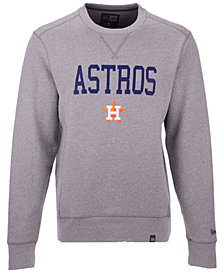 New Era Men's Houston Astros Premium Crew Sweatshirt