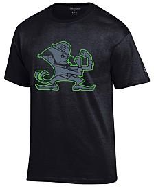 Champion Men's Notre Dame Fighting Irish Black Out Dual Blend T-Shirt