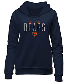 5th & Ocean Women's Chicago Bears Fleece Pullover Hoodie