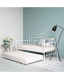 EveryRoom Maisie Twin Twin Size Daybed and Twin Size Trundle
