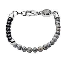 Men's Stackables Leather and Steel Bracelet