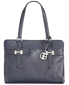 Giani Bernini Bridle Leather Tote, Created for Macy's