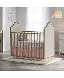 Piper Upholstered Metal Crib