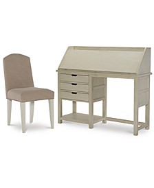 Study Hall Kid's Home Office 2-Pc. Set (Junior Secretary Desk & Chair)