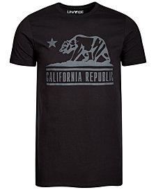 California Republic Bear Men's Graphic T-Shirt