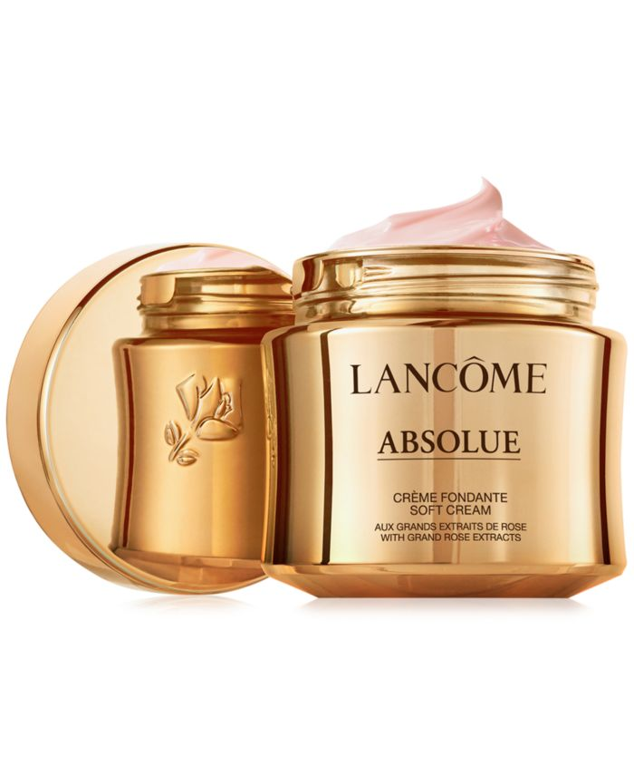 Lancôme Absolue Revitalizing & Brightening Soft Cream With Grand Rose Extracts Refill, 2 oz. & Reviews - Skin Care - Beauty - Macy's
