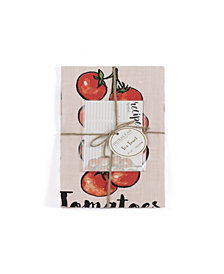 Shiraleah Tomato Tea Towel Set