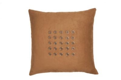 Microsuede Grommeted Pillow