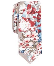 Penguin Men's Lesnar Floral Skinny Tie