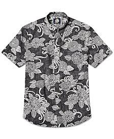 Reyn Spooner Men's Printed Mums Shirt