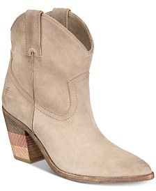 Frye Women's Faye Chevron Short Booties
