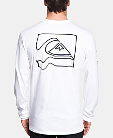 Quiksilver Men's Graphic Long-Sleeve T-Shirt