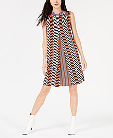 Marella Pleated A-Line Dress