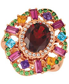 Le Vian® Multi-Gemstone Ring (4-3/8 ct. t.w.) in 14k Rose Gold