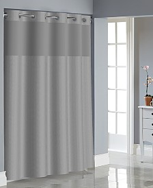 Hookless Herringbone 3-in-1 Shower Curtain