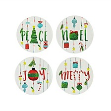 Holiday Plates, Set Of 4