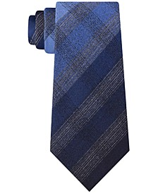 Men's Multi Tonal Check Tie