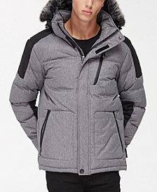 NOIZE Men's Weaver Jacket With Hood