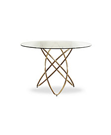 Modrest Rosario Modern Round Dining Table