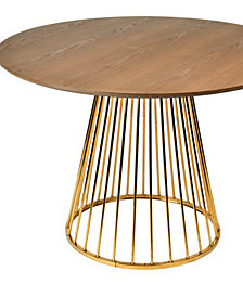 Modrest Holly Modern Round Dining Table