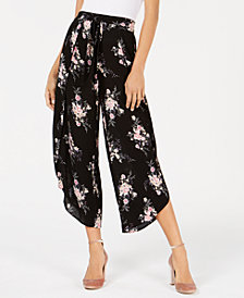 American Rag Juniors' Cropped Flyaway Soft Pants, Created for Macy's