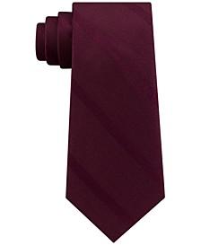 Men's Textured Stripe Silk Tie