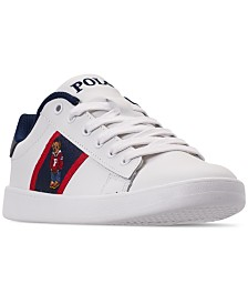 Polo Ralph Lauren Boys' Quilton Bear Casual Sneakers from Finish Line