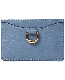Lauren Ralph Lauren Bennington Mini Leather Card Case