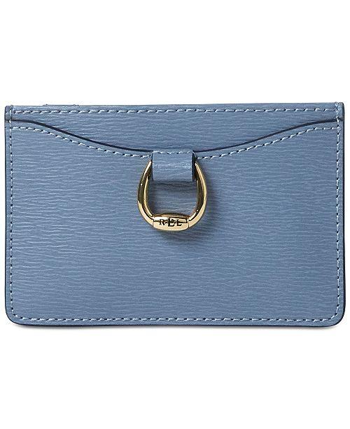 88079c0e78e6 Lauren Ralph Lauren Bennington Mini Leather Card Case - Handbags ...