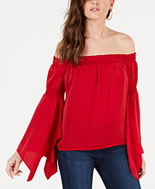 GUESS Hayden Off-The-Shoulder Top