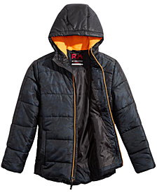 RM 1958 Big Boys Branson Camo-Print Hooded Jacket