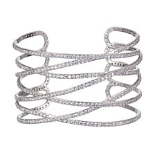 Nina Overlapping Scuptural Cuff