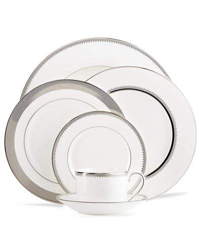 Vera Wang Wedgwood Dinnerware, Grosgrain Collection