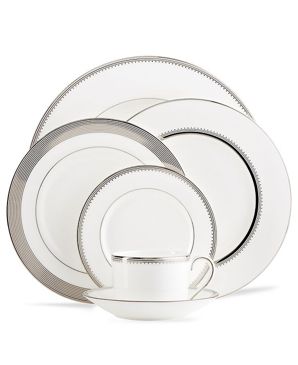 Vera Wang Wedgwood Dinnerware, Grosgrain Collection