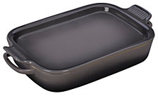 Le Creuset Rectangular3.5 Qt Dish With Platter Lid