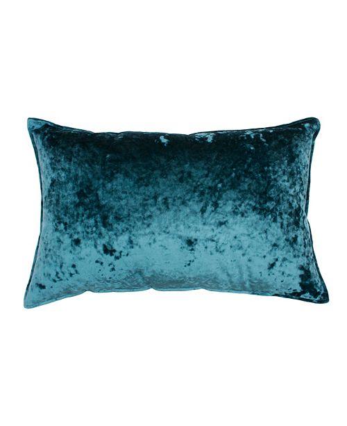 "THRO Ibenz Ice Velvet Pillow, 14"" x 22"""