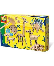 SES Creative Carpentry Playset Animals