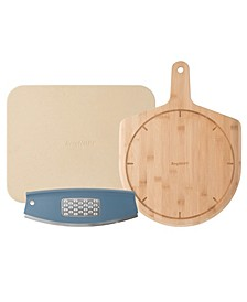 Leo Collection 3-Pc. Pizza Set