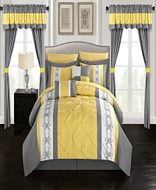 Chic Home Icaria 20-Pc. Bed In a Bag Comforter Sets